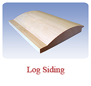 <h1>Log Siding (10/11 Pattern)</h1> 			This design is very popular for exterior siding.  Gives your home or cottage a log home look without the logs.<br /> 			        <table summary=&quot; &quot; class=&quot;datatable&quot;>         <caption></caption>         <tr>            <th scope=&quot;col&quot;>Board Size</th>           <th scope=&quot;col&quot;>Actual Coverage</th>           <th scope=&quot;col&quot;>Available Grades</th>         </tr>         <tr>                     <td class=&quot;middle&quot;>1 X 6</td>           <td class=&quot;middle&quot;>3/4&quot; X 5 1/4&quot;</td>           <td class=&quot;middle&quot;>Premium, Cottage</td>         </tr><tr>                     <td class=&quot;middle&quot;>2 X 8</td>           <td class=&quot;middle&quot;>1 1/2&quot; X 7 1/4&quot;</td>           <td class=&quot;middle&quot;>Premium, Cottage</td>         </tr>       </table>