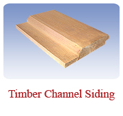 <h1>Timber Channel</h1> 			Our personal favorite for exterior siding. Gives a more rustic and realistic appearance compared to our regular log siding.<br /> 			        <table summary=&quot; &quot; class=&quot;datatable&quot;>         <caption></caption>         <tr>            <th scope=&quot;col&quot;>Board Size</th>           <th scope=&quot;col&quot;>Actual Coverage</th>           <th scope=&quot;col&quot;>Available Grades</th>         </tr>         <tr>                     <td class=&quot;middle&quot;>2 X 8</td>           <td class=&quot;middle&quot;>1 7/16&quot; X 7 1/4&quot;</td>           <td class=&quot;middle&quot;>Premium, Cottage</td>         </tr></table>